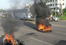 news/MGUJ-GAN-OMC-LCL-gujarat-affected-in-bharat-bandh-on-petrol-and-diesel-price-bus-service-stop-gujarati-news