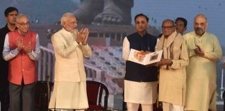 The monument was conceptualised by PM Modi during his tenure as Gujarat Chief Minister and he had laid the foundation stone for it in 2013