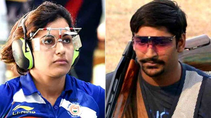 sports awards heena sidhu ankur mittal nominated for rajiv gandhi khel ratna by shooting federation