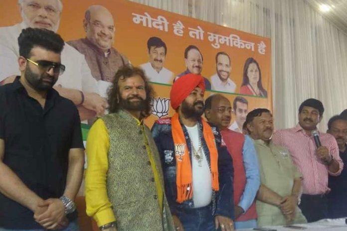 singer daler mehndi joins bjp