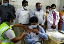 ગુજરાતે કરેલા આયોજનની કેન્દ્રીય આરોગ્ય પ્રધાન ડો. હર્ષ વર્ધનને વિગતો આપતાં કહ્યું કે, ગુજરાતમાં પ્રથમ તબક્કામાં જે નાગરિકોને રસીથી સુરક્ષિત કરવાના છે તે માટે રાજ્યના આરોગ્ય વિભાગ દ્વારા સંપૂર્ણ આયોજન કરી દેવાયું છે.