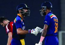 Team India's double century in the first innings in T20, 224 for 2